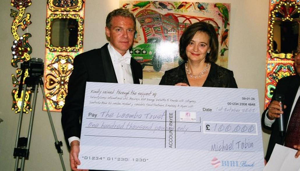 The Loomba Foundation