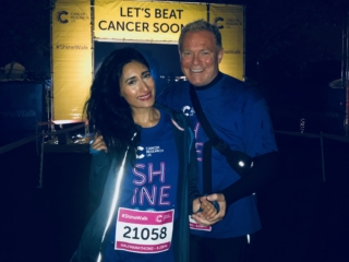 Shine Walk, Cancer Research UK, Michael Tobin, Mike Tobin, Philanthropist