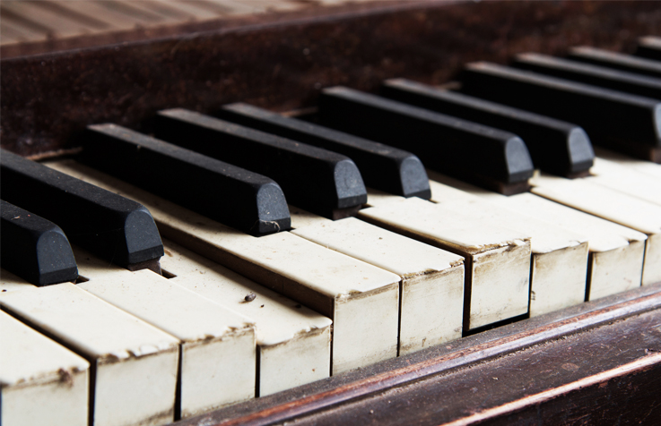 Fixing pianos