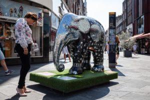 Elephant family, Elephant Parade London, Michael Tobin OBE, Mike Tobin