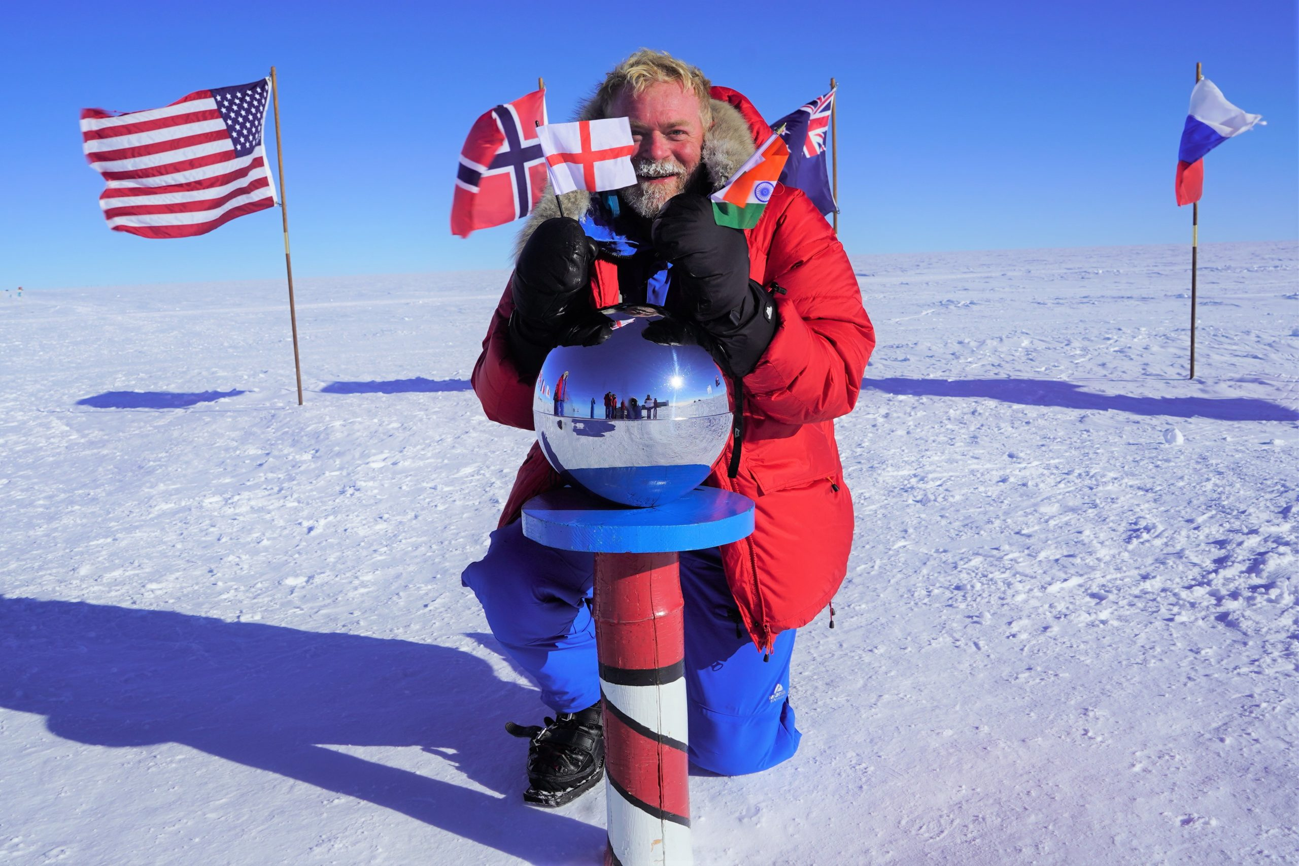 Trek to the South Pole