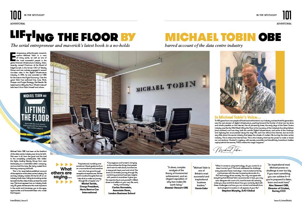 InterBlobix Magazine feature Lifting the Floor